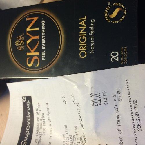 Skyn Condoms 20 pack for £6 at Superdrug