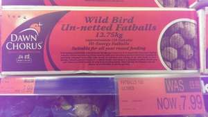 150 fatballs for wild birds £7.99 @ B&M