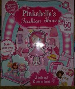 Pinkabella's Fashion Show Activity Toy (£7 On The Works), £1 In Store @ Poundworld