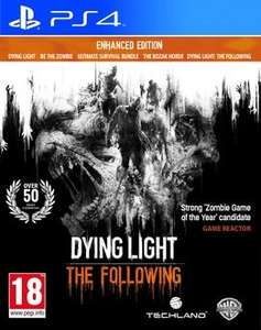 Dying Light The Following Enhanced Edition (PS4) £21.85 @ Rakuten/ShopTo