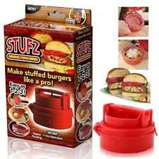 Stufz Stuffed Hamburger Press £2.99 delivered at eBay / Cheap Clearance Store