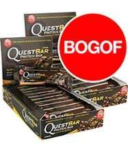 Quest Nutrition Protein Bars - Short Dated June 2016 - Chocolate Mint - 24 for £19.99 Buy One Get One Free @ Discount Supplements