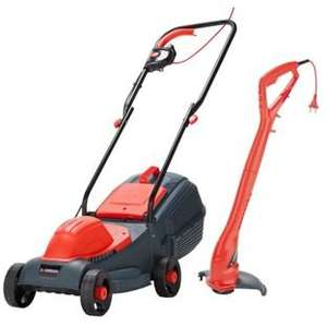 Sovereign Corded Rotary 1000W Mower and 250W Grass Trimmer £44.99 @ Argos