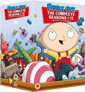 Family Guy: Seasons 1-12 DVD £15.74 [Using Code: XV10] @ Xtra-Vision