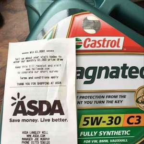 Castrol Magnatec 5w30 C3 £21 Instore Asda