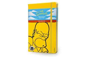 Moleskine The Simpsons Limited Edition Hard Yellow Ruled Large Notebook - £7.17 Amazon Prime / £11.16 Non Prime