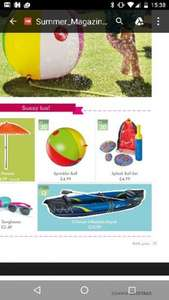 inflatable two person canoe £39.99 @ Lidl from 13th June
