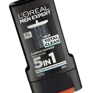 L'Oreal Men Expert Total Clean Shower Gel XL 300ML - ASDA (INSTORE)