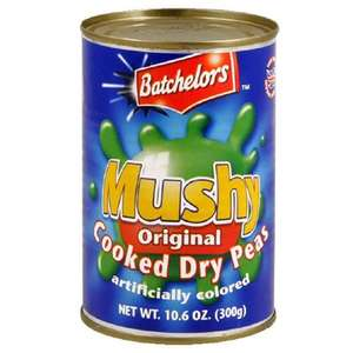 Free tin of Batchelors Mushy Peas