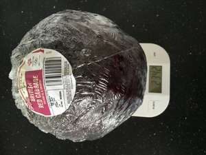 Giant red cabbage (2kg+) 45p @ Aldi