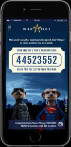 Save money and get 2 for 1 cinema tickets and a Limited Editions toy(BAT-MEERKATorSUPER-MEERKAT) £2.84