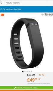 Fitbit Flex - click and collect from Decathlon for £49.99