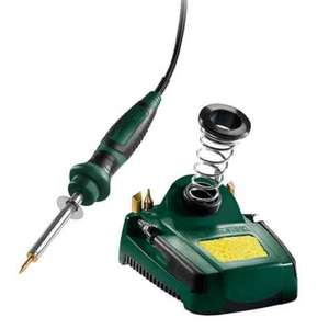 Parkside Soldering Iron Set with stand £6.99 @ Lidl