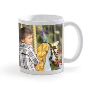 Save 75% on an 11oz White Photo Mug £1.99  + £1.99 C&C @ Boots Photo