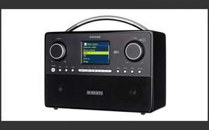 Roberts Stream93i DAB/DAB+/FM RDS and WiFi Internet Smart Radio with Three Way Speaker System £129.99 @ Amazon