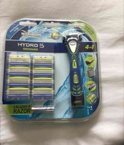 Wilkinson Sword Hydro 5 Groomer Razor plus 9 blades £9.99 @ Home Bargains