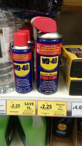 WD-40 400ml smartstraw Tesco (instore) £2.25