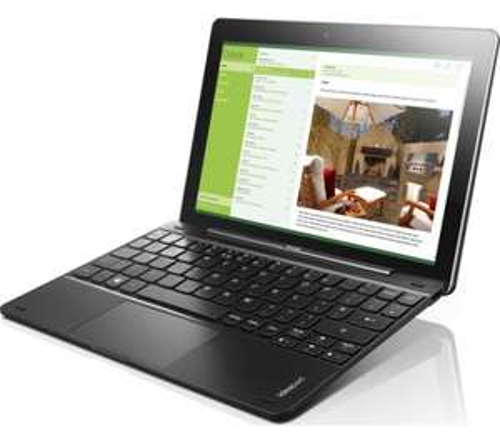 Argos Refurb - Lenovo Miix 10.1 Inch Intel Atom 1.83Ghz 2GB 32GB 2-in-1 Windows Laptop - Black £89.99