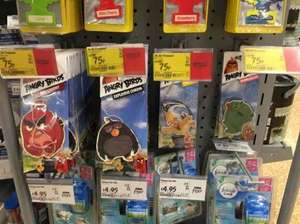 Angry Birds car freshener half price 75p @ ASDA