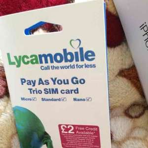 £15 free credit from Lyca if you switch your old number to Lyca