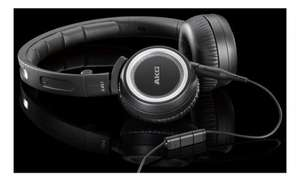 AKG K451 High Performance Foldable Portable Mini Soft Cushioned Headphones with In-Line Volume Remote and Microphone - Black £27.40 @ Amazon DE