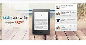 Kindle Paperwhite £87.99 possible 20% off for father's day at Amazon?