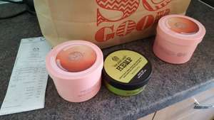 Body shop 3 for £20 instore