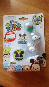 Tsum Tsum 4 pack reduced to £2.50 in Asda