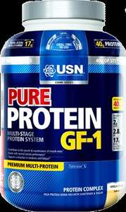 USN Pure Protein GF1 Growth and Repair Protein Shake, Vanilla - 2.28 kg £26.99 or £25.64 sub & save @ Amazon