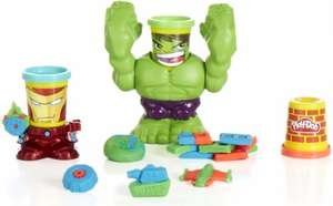 Play-Doh Marvel Smashdown Can-Heads Featuring Hulk Figure (Was £13.97) Now £9.97 at Asda George