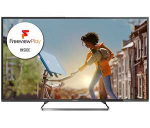 PANASONIC VIERA TX55CX680B 55 inch 4K Ultra HD Smart LED TV Freeview Play £599.00 @ Richer sounds 6 yrs Warranty