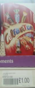 Celebrations Carton 245g £1 @ Bargain Buys