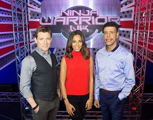 NINJA WARRIOR UK Series 3 recording at Manchester Central