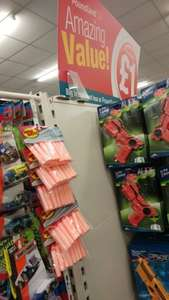(Unofficial) 20-Pack Nerf Darts £1 at Poundland