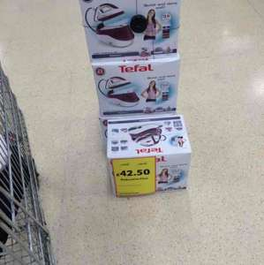 Tefal high pressure steam generator down from £119 to £42.50 in store tesco Hanley-Stoke on Trent