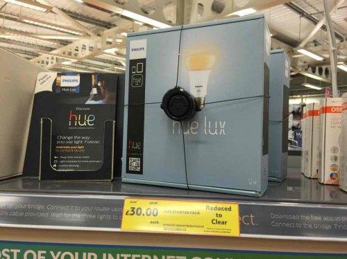 Philips Hue  Lights / Starter Kit - £30 down from £90 @ Tesco