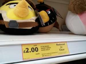 Star wars angry birds soft toy £2.00 @ tesco