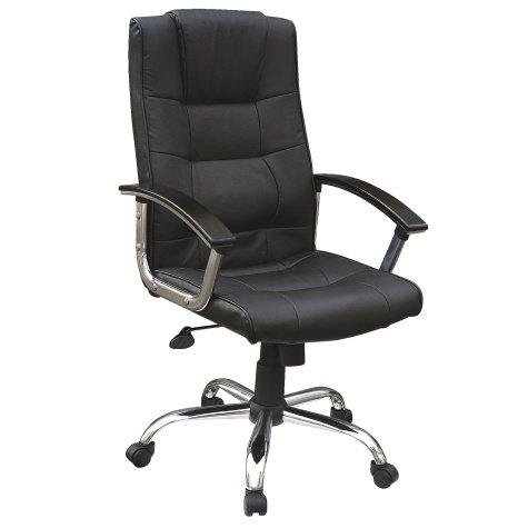 Black Niceday Berlin Leather Chair Viking Direct £29.99 inc. VAT + Free Samsonite Bag Pack