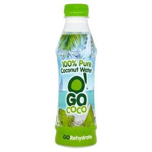 Go Coco Coconut water 500 ml 39p at Quality Save and Home Bargains