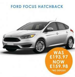 Ford focus lease deal hippoleasing