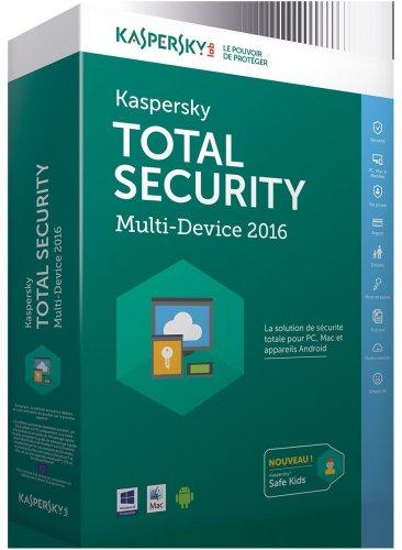 Kaspersky Total Security - Multi-Device 2016 £3.99 - £3.59 W/Code
