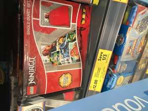Lego Ninjago single duvet set - £12 @ Tesco Instore