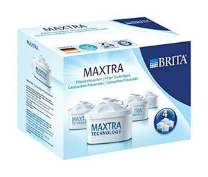 BRITA MAXTRA Water Filter Cartridges - Pack of 4 £9.99 (Prime) £14.74 (Non Prime) @ Amazon