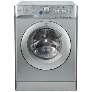 Indesit XWC61452S 6KG 1400 Spin Washing Machine - Silver. £179.99 @ Argos