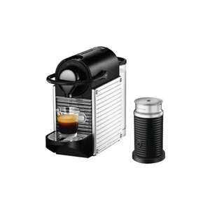 Krups Nespresso Pixie & Aeroccino - Stainless Steel + £60 Nespresso Voucher £79.99 @ home and cook - instore