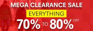 Mega Clearance Sale - Everything 70%-80% Off @ Regatta Outlet