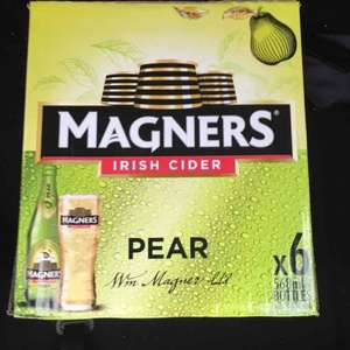 6 X 568ml Original/Pear Magners Cider £5.95 Aldi- instore