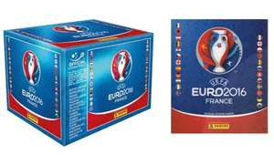100 pack PANINI EURO 2016 BOOSTER BOX 500 STICKERS+ALBUM £29.98 @ Groupon