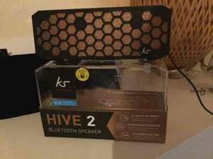 KS Kitsound hive 2 speaker £25 Tesco
