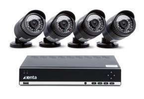 Xenta 1TB 8 Channel HD DVR with 4 x Camera CCTV Kit £184.98 delivered at eBuyer